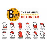 Buff Multifunctional Headwear Bandana - Sun/Dust Protective Mask
