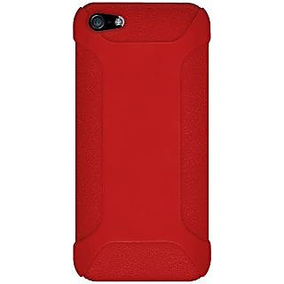 Amzer 94535 Silicone Skin Jelly Case - Red for iPhone 5