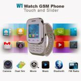 Original KenXinda W1 TouchScreen Watch Mobile Dual Sim Fm BT GPRS