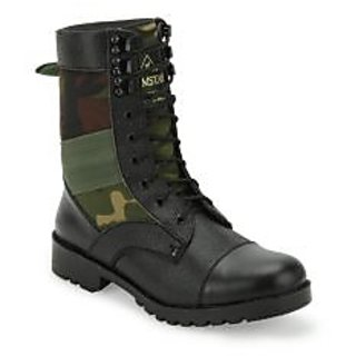 Benera Dms Camouflage High Ankle Boot