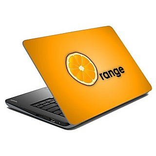meSleep Orange Laptop Skin LS-01-20