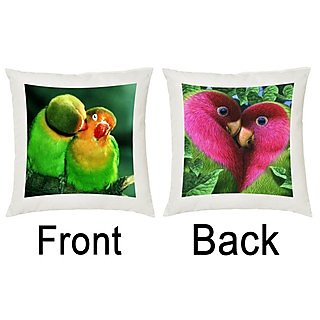 Snooky Trendy Colorful Digitally Printed 2Pcs Cushions Cover