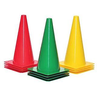 Navex Agility Stoplight Marker Cone 6 inch with Number