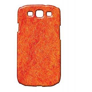 Pickpattern Back Cover For Samsung Galaxy S3 I9300 ORANGEMESHS3
