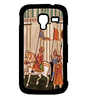 Pickpattern Back Cover For Samsung Galaxy Ace 2 I8160 HORSEPAINTINGACE2