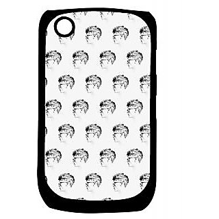 Pickpattern Back Cover For Blackberry Curve 8520 HIPSTERGUYS8520