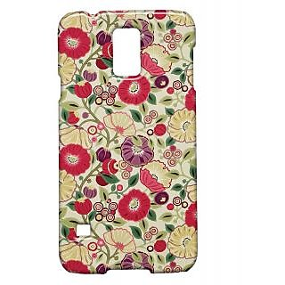 Pickpattern Back Cover For Samsung Galaxy S5 Sm-G900I PAINTPASTELSS5