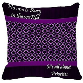 meSleep Priorities Cushion Cover (20x20)