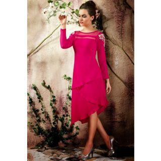 Elegant Pink Kurti
