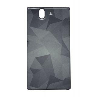 Pickpattern Back Cover For Sony Xperia Z METALLICDUSTXZ