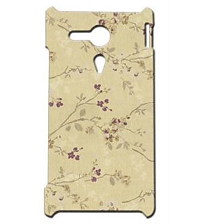Pickpattern Back Cover For Sony Xperia SP PRETTYJULIESP