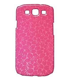 Pickpattern Back Cover For Samsung Galaxy S3 i9300 PINKLEAVESS3
