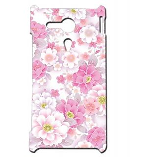 Pickpattern Back Cover For Sony Xperia SP PRETTYWONDERSP