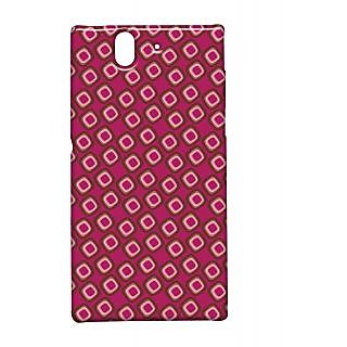 Pickpattern Back Cover For Sony Xperia Z FUSCHIABOXESXZ
