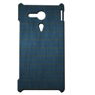 Pickpattern Back Cover For Sony Xperia SP POTTERRAVENCLAWSP