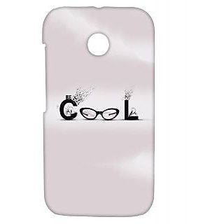 Pickpattern Back Cover For Motorola Moto E/Moto E Dual Sim COOLGLASSESME