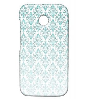 Pickpattern Back Cover For Motorola Moto E/Moto E Dual Sim FADEDVINTAGEME