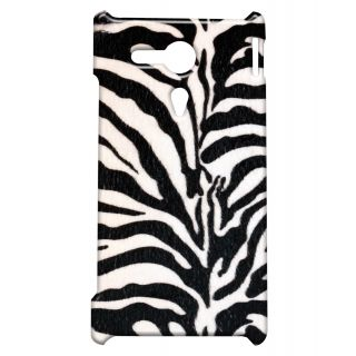 Pickpattern Back Cover For Sony Xperia SP ZEBRAFABRICSP