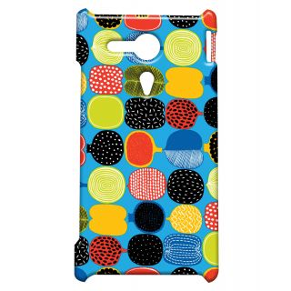 Pickpattern Back Cover For Sony Xperia SP CUTFRUITSSP