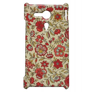 Pickpattern Back Cover For Sony Xperia SP PAINTEDREDSP