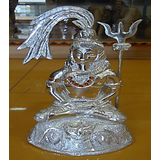Lord Shiva Idol  (Silver)
