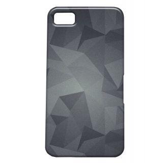 Pickpattern Back Cover For Blackberry Z10 METALLICDUSTZ10