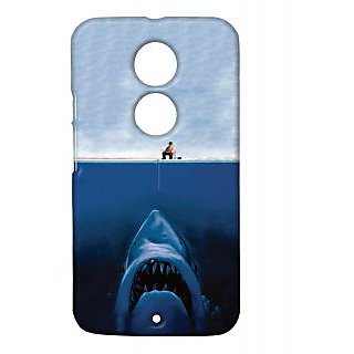Pickpattern Back Cover For Motorola Moto X 2nd Gen SHARKFISHINGMX2