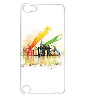 Pickpattern Back Cover For Apple iTouch 5 MONUMENTSINDIAIT5