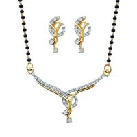 Dg Jewels 24k Gold Plated Exotic Mangalsutra Set-CMS7010