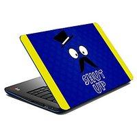 Mesleep Shut Up Laptop Skin LS-07-15