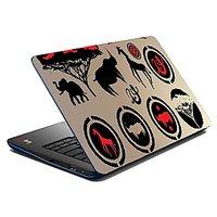 Mesleep African Animal Print Laptop Skin LS-07-29