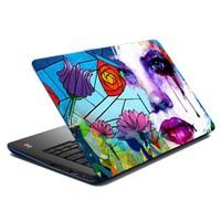 Mesleep Crying Flower Laptop Skin LS-07-40