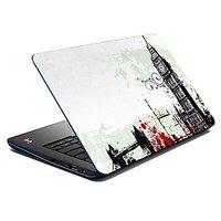 Mesleep Grey City  Laptop Skin LS-07-52