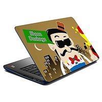 Mesleep Bhoon Daalunga Laptop Skin LS-07-55