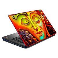 Mesleep Yellow Shut Up  Laptop Skin LS-07-59