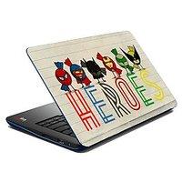 Mesleep Heroes Laptop Skin LS-07-60