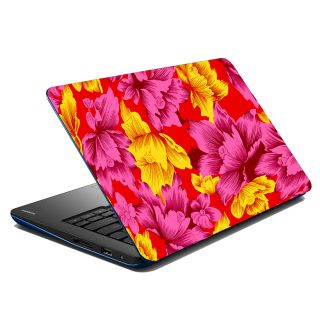 Mesleep Multi Colored Leaves Laptop Skin LS-07-02