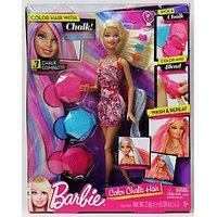 Mattel's Barbie Color Hair With Chalk