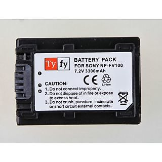 Tyfy - Battery for Sony Cameras - NPFV100