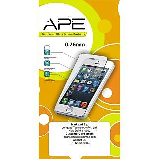 Ape Tempered Screen Protector For Apple Iphone 5G