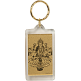 Pure Gold Foil Laxmi Keychains -An Unique N Affordable Way To Gift Gold.