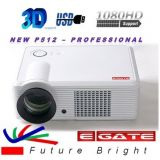 EGATE, P450 3000 LUMENS HD LCD LED 3D* PROJECTOR-USB+ HDMI + VGA + AV + TV