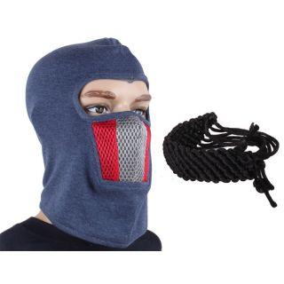 Jstarmart Rock Face Mask With Black Wrist Band JSMFHFM0239