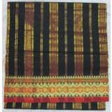 Kamala, Sarees, Pure Cotton Sarees, Black Colour /5.8Mtr