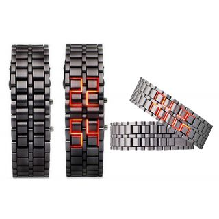Stainless Steel LED Bracelet Watch for Men available at ShopClues for Rs.229
