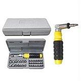 41 Piece Tool Kit And Screwdriver Set