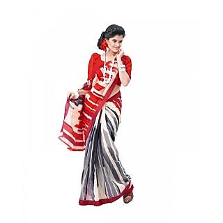 Bhavi Printed Cotton Silk Sari (BHVS7003)