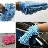 Set Of Two Microfiber Multipurpose Vleaning Gloves