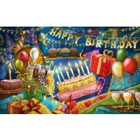 Multicolour Birthday Party Kit Full Room Decoration Kit