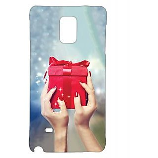 Pickpattern Back Cover for Galaxy Note 4